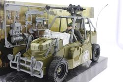 MEGA - Sürtmeli Aksesuarlı Askeri Araç ve Asker Seti
