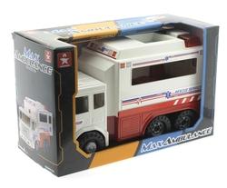 Oyuncak Sürtmeli Büyük Ambulans 31 Cm - Thumbnail