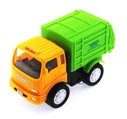 MEGA - Sürtmeli Kırılmaz Yeşil Çöp Kamyonu