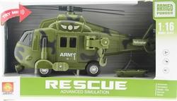 MEGA - Sürtmeli Sesli ve Işıklı Askeri Helikopter