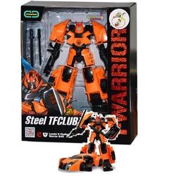 Gepet Toys - T-Warrior Metal Gövdeli Dönüşebilen Oyuncak Robot Spor Araba