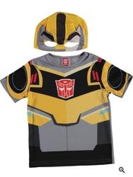 TRANSFORMERS - Tf Bumblebee üst kostüm T-Shirt (4-6)