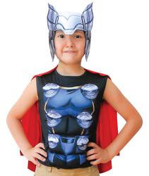 THOR - Thor Pelerinli Üst Kostüm 7-9 Yaş