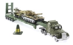 MEGA - Tır Tank ve Helikopterli Metal Askeri Araç Seti