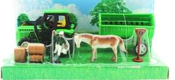 MEGA - Traktör ve Atlı Çiftlik Seti