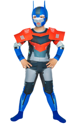 TRANSFORMERS - Transformers Optimus Prime Kostüm 10-12 Yaş