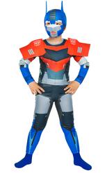 TRANSFORMERS - Transformers Optimus Prime Kostüm 4-6 Yaş