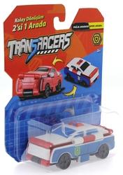MEGA - Transracers Dönüşen Araçlar Polis Arabası / Spor Araba