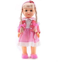 Türkçe Konuşan Şarkı Söyleyen Yürüyen Oyuncak Bebek 42 cm - Thumbnail