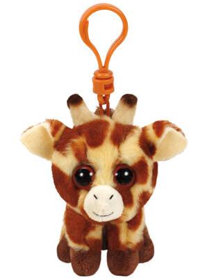 Ty Beanie Babies Zürafa Peaches Peluş Anahtarlık