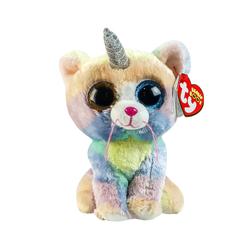 TY - TY Beanie Boos Boynuzlu Kedi Peluş Heather 15 cm