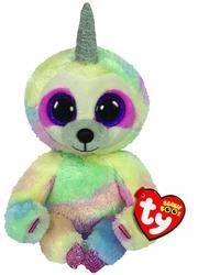 TY - Ty Beanie Boos-Cooper Renkli Unicorn Tembel Hayvan 15 cm