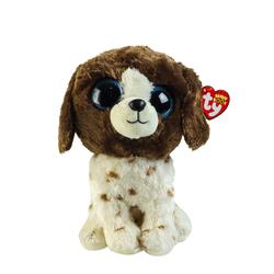 TY - TY Beanie Boos Kahverengi Benekli Peluş Köpek Muddles 15 cm