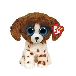 TY - TY Beanie Boos Kahverengi Benekli Peluş Köpek Muddles 22 cm