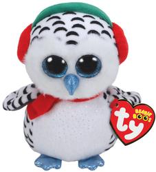 TY - Ty Beanie Boos Kar Kıyafetli Baykuş 25 Cm
