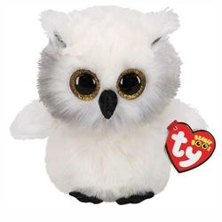 TY - TY Beanie Boos Peluş Kar Baykuşu-Austin 15 cm