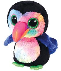 TY - Ty Beanie Boo´s Tukan Kuş Beaks Peluş 15 Cm