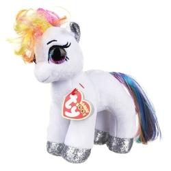 TY - TY Beanie Starr beyaz pony Peluş 15 Cm