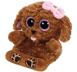 TY - TY Peek A Boo Peluş Telefon Koltuğu Köpek Zelda 12 cm