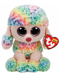 TY - TY Rainbow - Multicolor Poodle Med