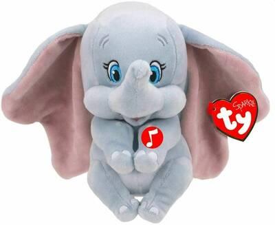 TY Sparkle Sesli Peluş Fil Dumbo 15 cm