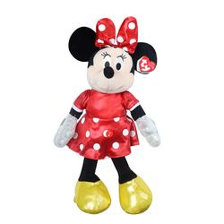 TY - TY Sparkle Sesli Peluş Minnie Mouse Kırmızı 36 cm