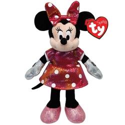TY - TY Sparkle Sesli Peluş Minnie Mouse Rainbow 21 cm