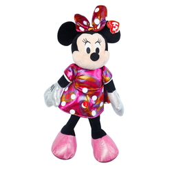 TY - TY Sparkle Sesli Peluş Minnie Mouse Rainbow 36 cm