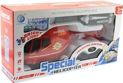 MEGA - U.K. Çarp Dönsün Kırmızı Helikopter
