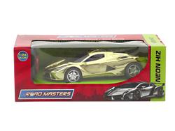 MEGA - U.K. Pilli Altın Spor Araba Neon Hız Rt24