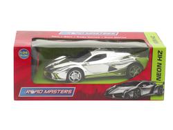 MEGA - U.K. Pilli Gümüş Spor Araba Neon Hız Rt24
