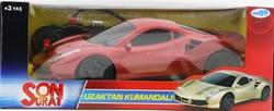 MEGA - U.K. Pilli Kırmızı Spor Araba Son Sürat Yt6622