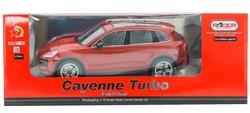 MEGA - U.K. Şarjlı Kırmızı Porsche Cayenne Turbo 985