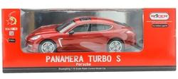 MEGA - U.K. Şarjlı Kırmızı Porsche Panamera 1023