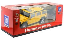 MEGA - U.K. Şarjlı Sarı Hummer H2 Suv 1032