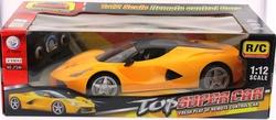MEGA - U.K. Şarjlı Sarı Spor Araba Jt240