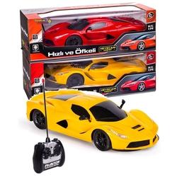 Can-em Oyuncak - Uzaktan Kumandalı Araba Ferrari Ups Şarjlı Işıklı Hızlı Ve Çok Seri 1:14