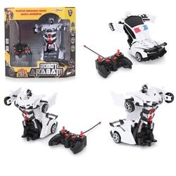 Universal Toys - Uzaktan Kumandalı Arabaya Dönüşen Robot Şarjlı