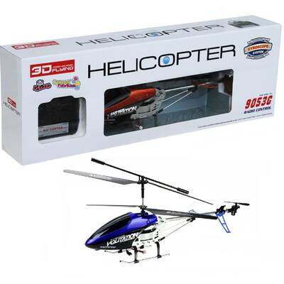 Uzaktan Kumandalı Helikopter 68 Cm 3,5 Ch Gyro Büyük Boy Helikopter 9053G