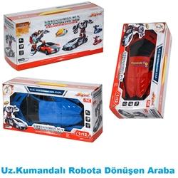 Gepet Toys - Uzaktan Kumandalı Robota Dönüşebilen Araba Hızlı Ve Atik 1: 12 Ölçek