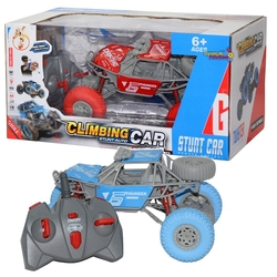 Gepet Toys - Uzaktan Kumandalı Şarjlı Jip Hızlı Climbing Car Rock Crawler Işıklı 1:20 2.4 G