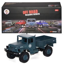 Gepet Toys - Uzaktan Kumandalı Şarjlı Off Road Askeri Kamyonet 2.4Ghz