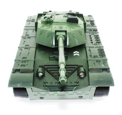 Uzaktan Kumandalı Yeşil Leopar Tank
