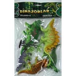 Vardem Oyuncak - Vardem 5 Parça Dinozor Seti