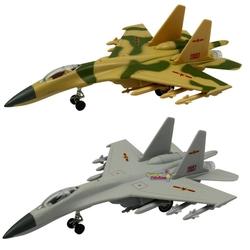 Vardem Oyuncak - Vardem Açık 9 İnç j-11 Sesli Işıklı Savaş Uçağı