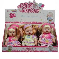 Vardem Oyuncak - Vardem Baby Maymay Oyuncak Et Bebek Sesli 30 Cm