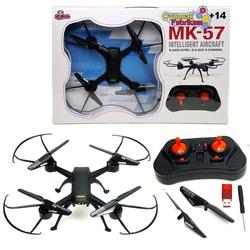 Vardem Oyuncak - Vardem Drone Helikopter Işıklı 6 Axis Gyro 2.4 Ghz 4 Channel MK-57