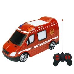 Vardem Miajima Oyuncak Uzaktan Kumandalı Full Foksiyon İtfaiye Arabası Işıklı - Thumbnail