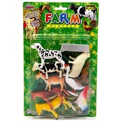 Vardem Oyuncak - Vardem Oyuncak Çiftlik Hayvanları Seti 12 Parça 4 inch
