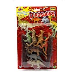 Vardem Oyuncak - Vardem Oyuncak Dinozor Hayvan Seti 12 Parça 4 inch
